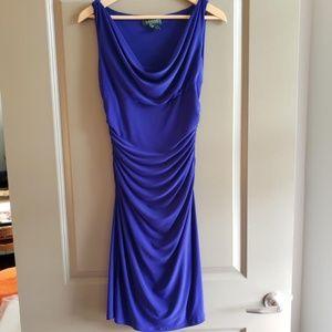 Purple LAUREN by Ralph Lauren dress
